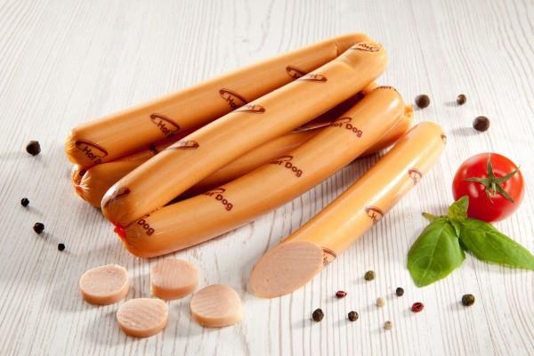 Parówki hot dog